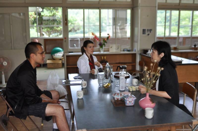 Eriko Ishikawa at The Residency